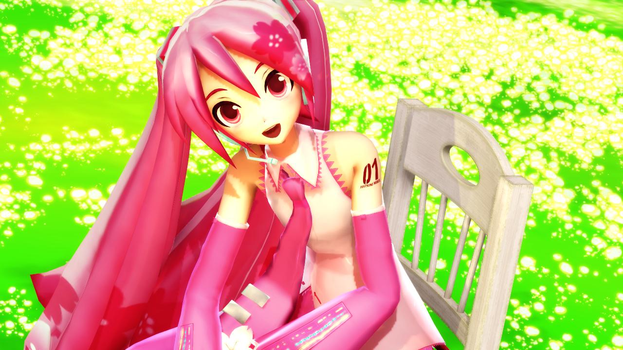 Sakura Miku by caio4856
