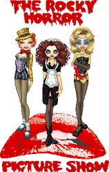 Rocky Horror Picture Collab by Cherieosaurus