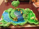 Spring Pond Cake 5