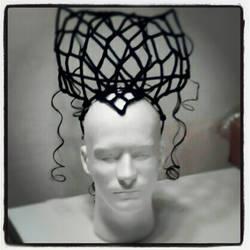 Dark Lily head piece