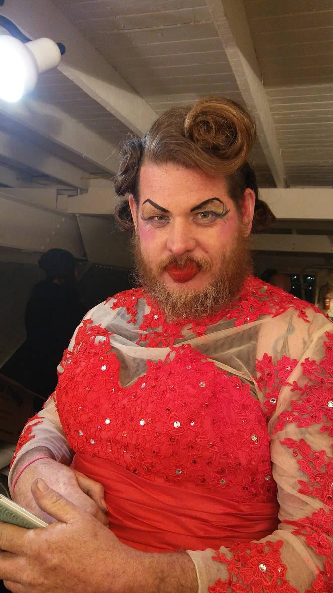 Glitter Bearded Lady