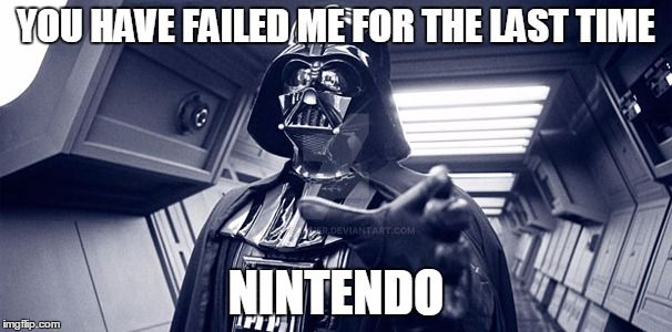 Darth Vader is dissapointed by FrxPlanner