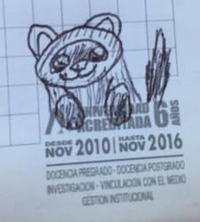 My Ferret but is a random scribble by FrxPlanner