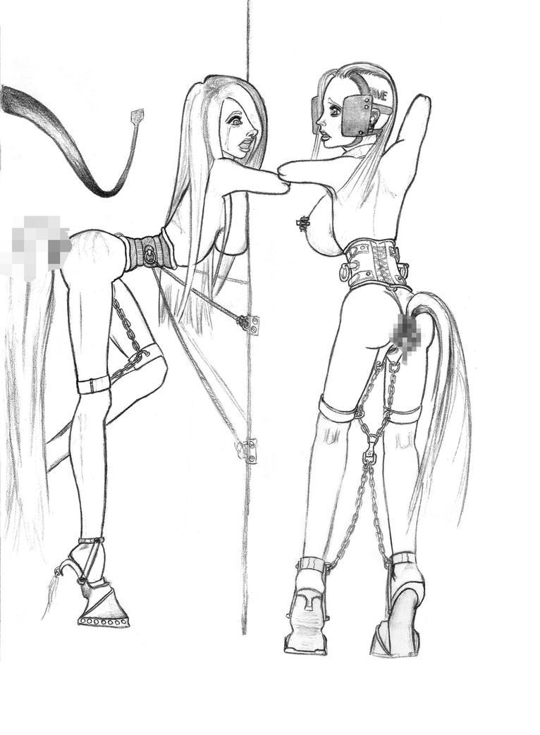 Ponygirls correction. by Ponelo