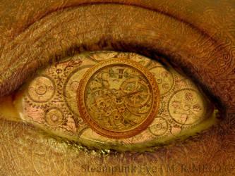 Steampunk Eye by redvelvetcat
