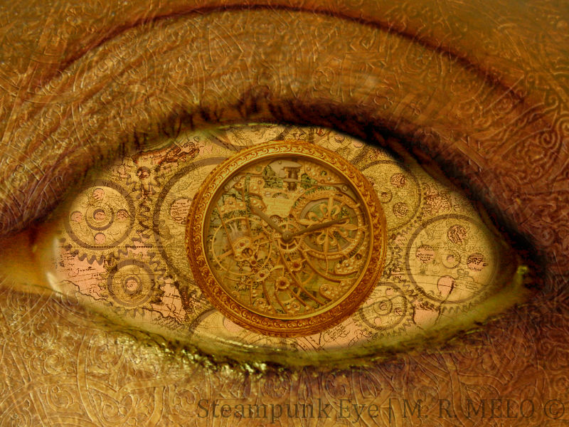 steampunk wallpaper eye - photo #13