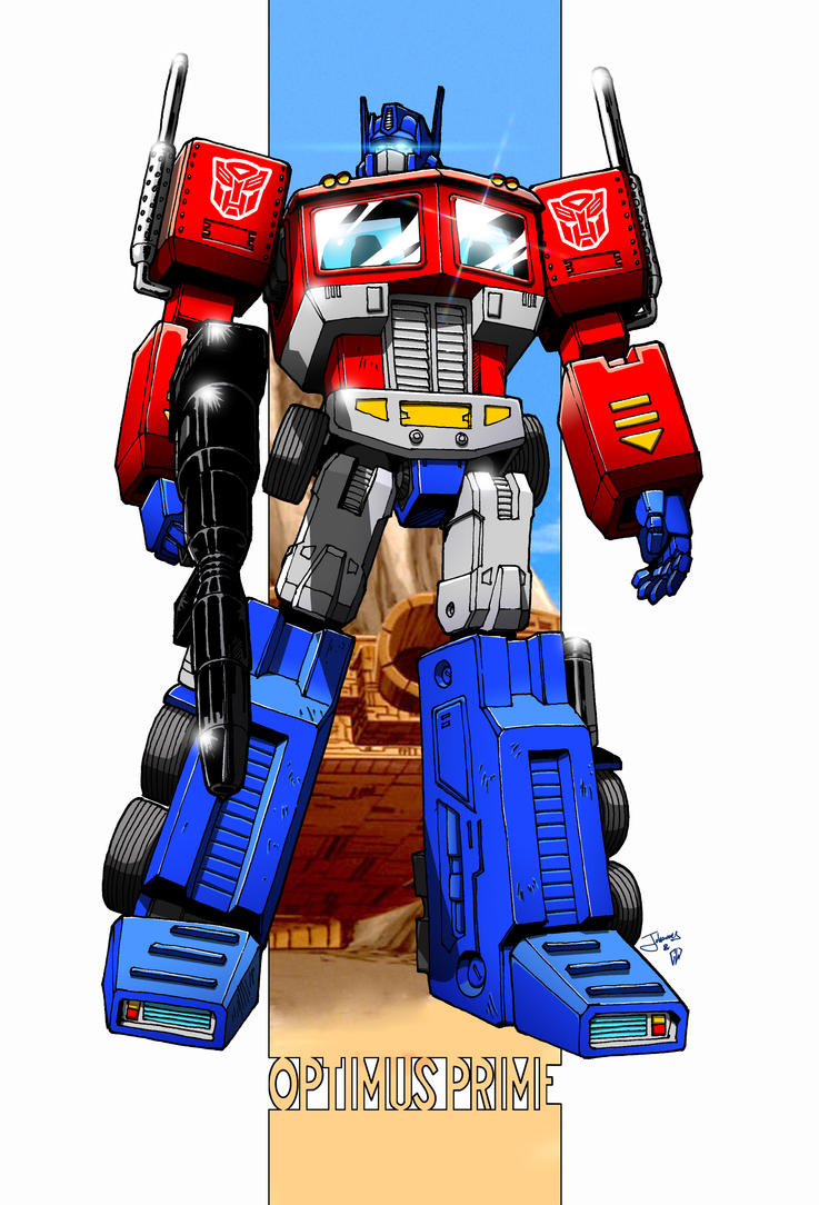 Optimus Prime G1 by gwydion1982