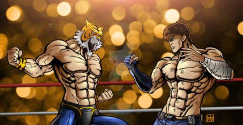 Tiger Mask VS Kenshiro