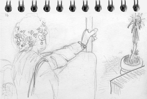 Velhota no Autocarro by Mourinho