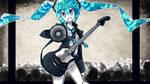 Commission - Rockin' Miku
