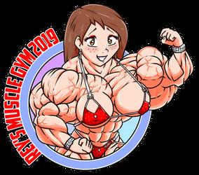 2019 Rey's Muscle Gym Logo by Bioshin26