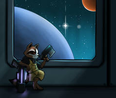 Rocket Station by c0nker