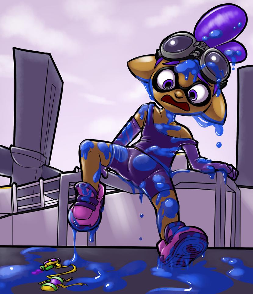 Super Sized Squidboy Slips'n Smashes by c0nker
