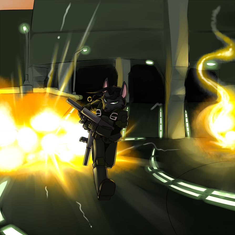 Speedy Shadow Shoots Some Stuff by c0nker
