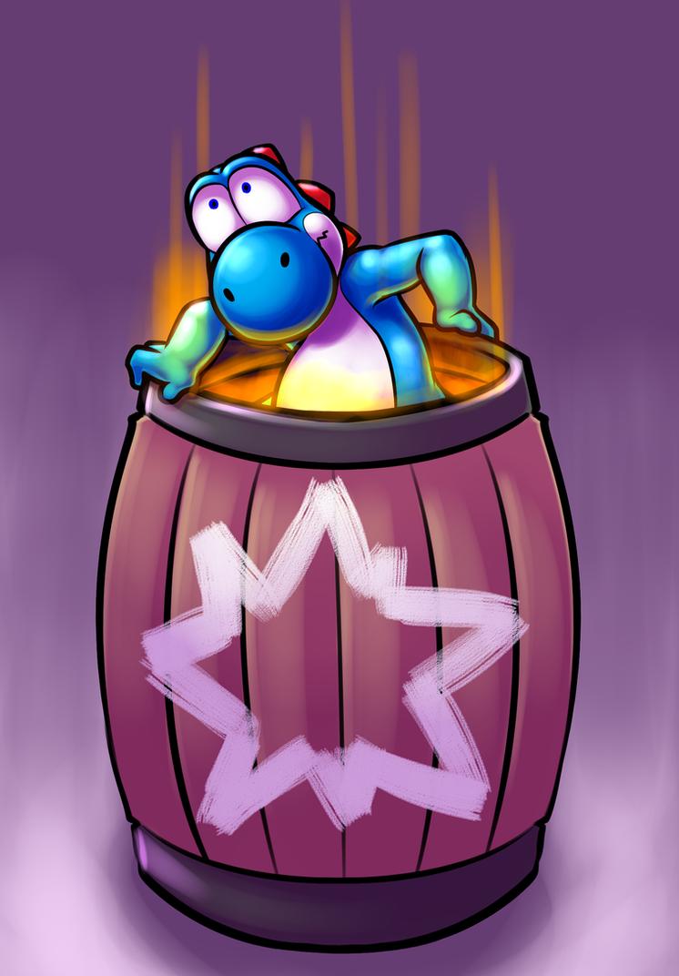 Blast Barrel Booming Buggy Blue Boy by c0nker