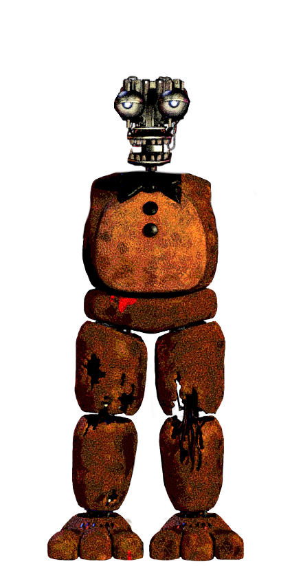 Freddy Ripped apart with a Smile by ToxiinGames on DeviantArt