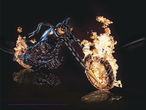 ghost rider motor