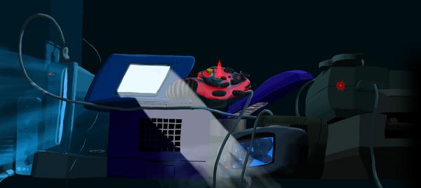 Techno Twilight by XofRevlis