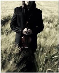 silent violin by MissHeroin