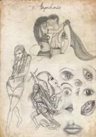 sketch dump 4 by angelrose112