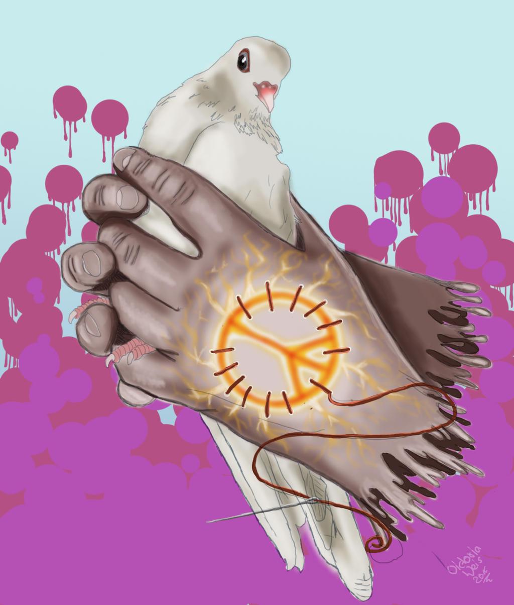 Heiliger Frieden by angelrose112