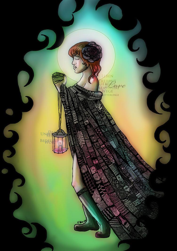 Gang durch die Dunkelheit by angelrose112