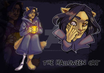 ADOPT The Halloween Cat [CLOSED] by AcediaComprime