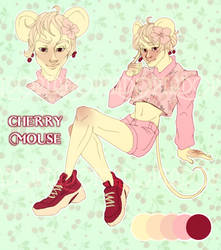 Cherry Mouse adopt [OPEN) by AcediaComprime