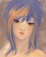 Blue-orange by foolM00N