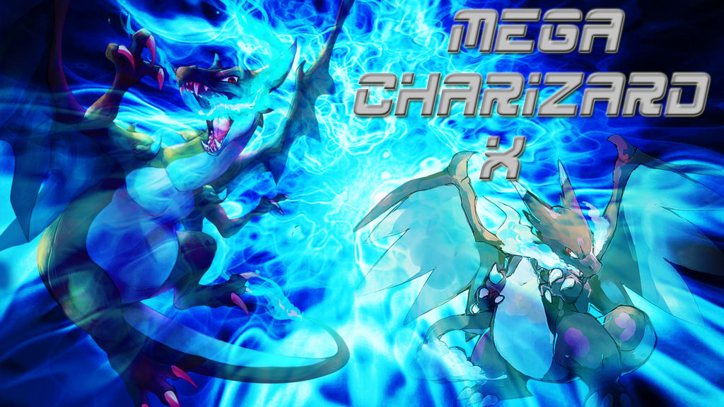 Mega Charizard X Wallpaper By Bloody Sama On Deviantart