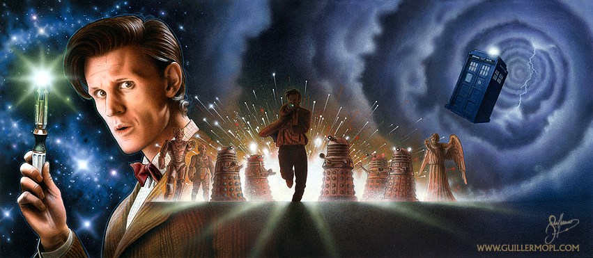 DOCTOR WHO (Fan Poster) by atreus