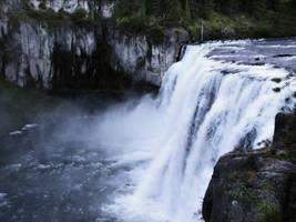 Waterfall 2 by Ladydragontl-Stock