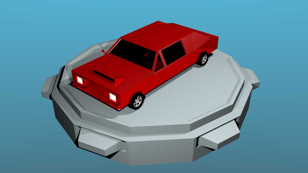 Low poly car. by breecolors