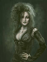 Helena as Bellatrix Lestrange by Acaciacat