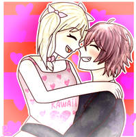 [Diabolik Lovers] You your smile is precious[Ayara by CookieSama123