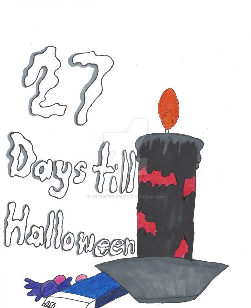 27 Days till Halloween by Horrordragon339 on DeviantArt
