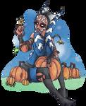 Halloween 21 Pumpkin- Ahsoka Tano by Horrordragon339