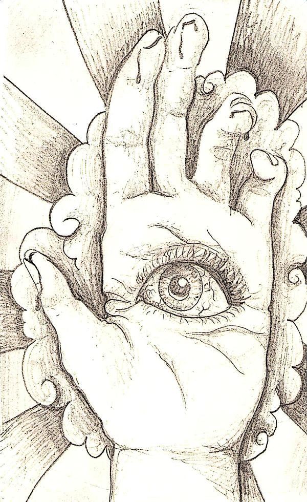 All seeing eye by KatieMatie