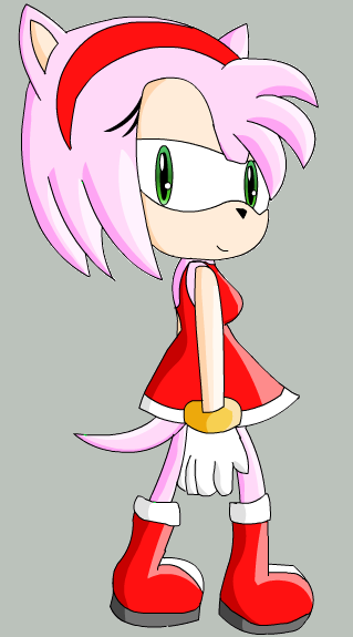 Amy rose sonic x style by allicali on deviantart - Amy rose sonic x ...
