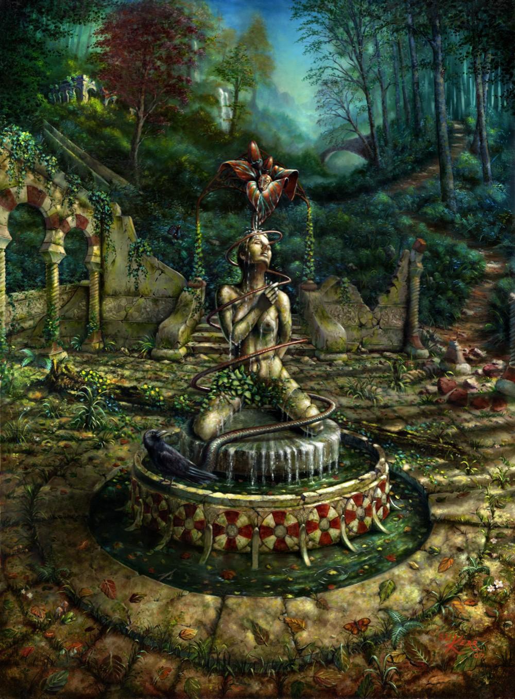 Aehve's Fountain by SWKerr