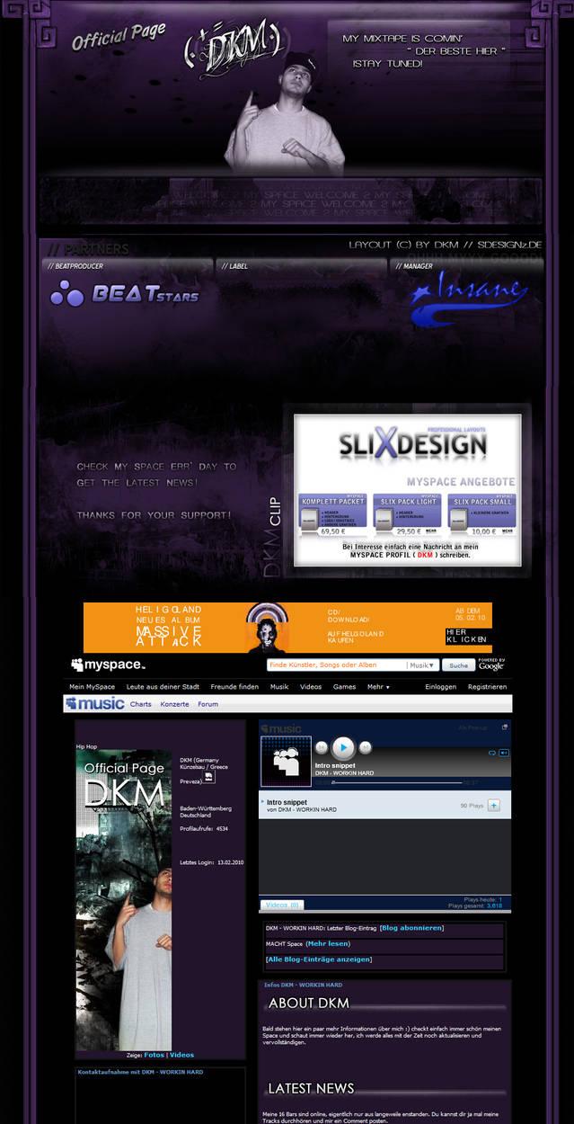 a very nice myspace layout