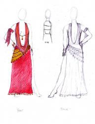 Belly Dancer Dress 1