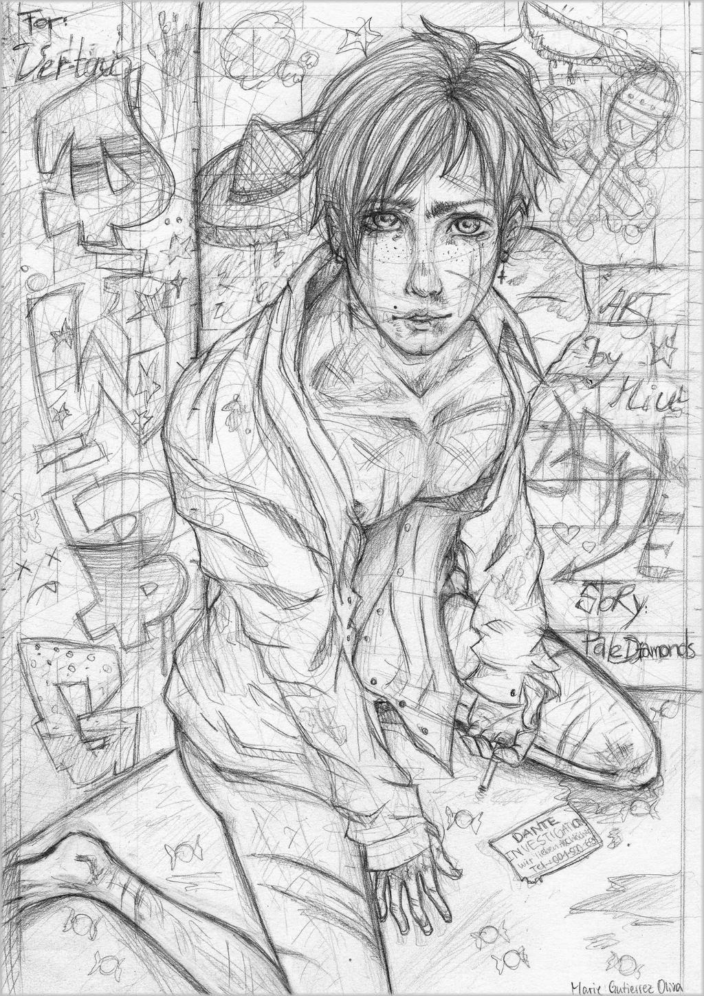 Deep Web-Babygirl: Dante - Skech by Miu-koru