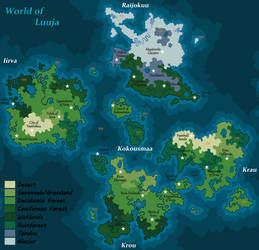 World Map of Luuja