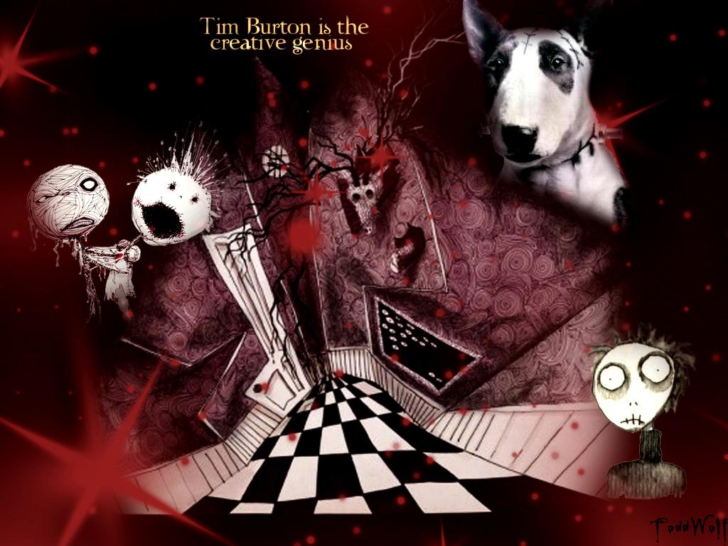 Tim Burton is genius Wallpaper by AnsticeWolf on DeviantArt