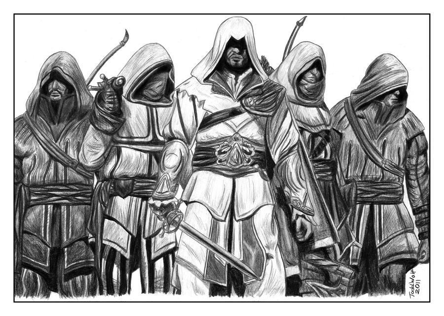 Assassin's Creed Brotherhood by AnsticeWolf