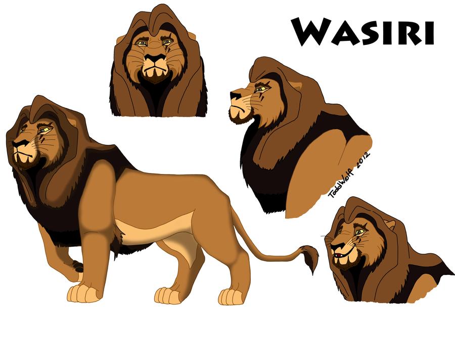 P.O The Lion King Wasiri_by_toddwolf-d5aofan
