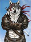 Antal Theron - warrior portrait