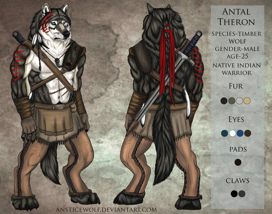 Antal Theron base refsheet by AnsticeWolf