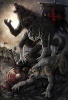 YCH Wolves of War by AnsticeWolf
